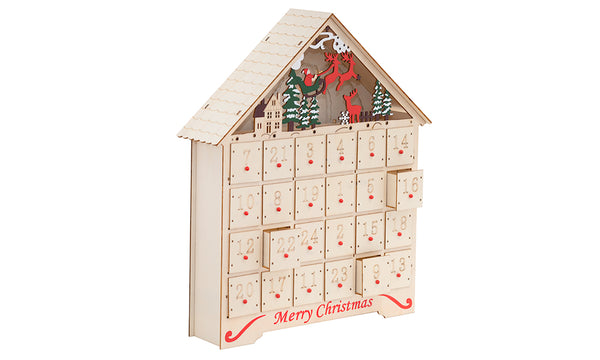 10 LED Advent Calendar