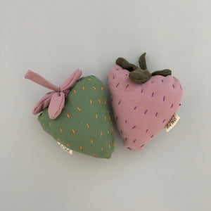 Fabric Fruit Rattles