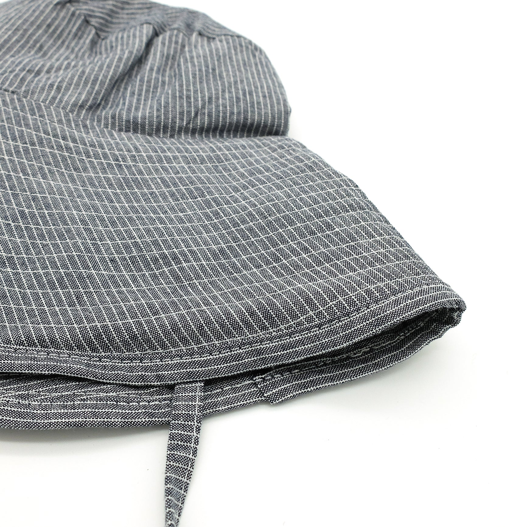 Denim Stripe Sun-Hat