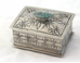 Sterling Silver Box with Turquoise Accents