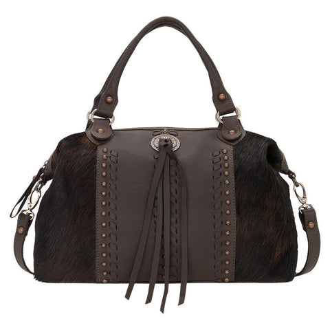 American West - 4138227 - Convertible Satchel - Pony Hair