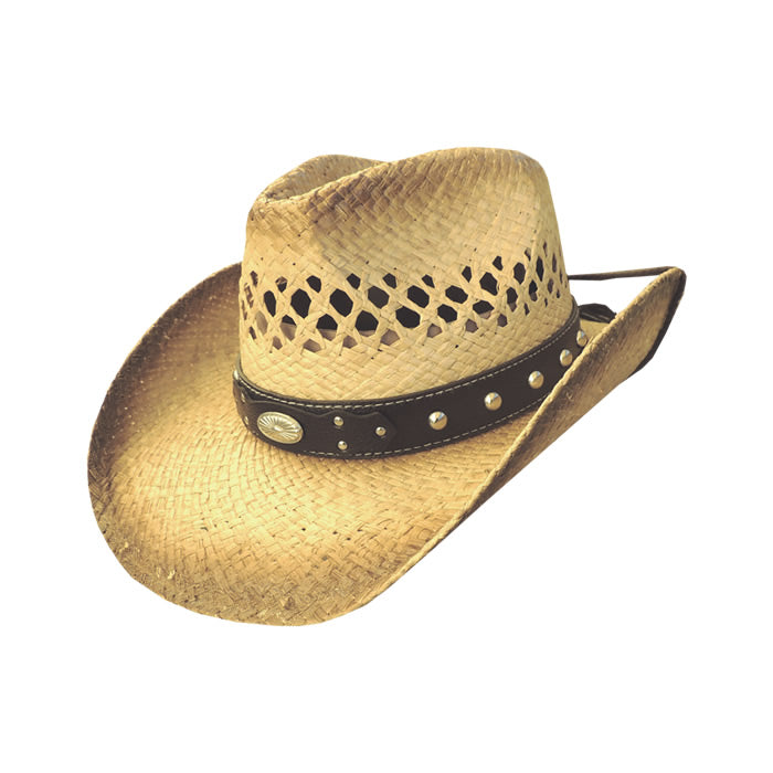 Dallas Hat's Men's Western Straw Hat