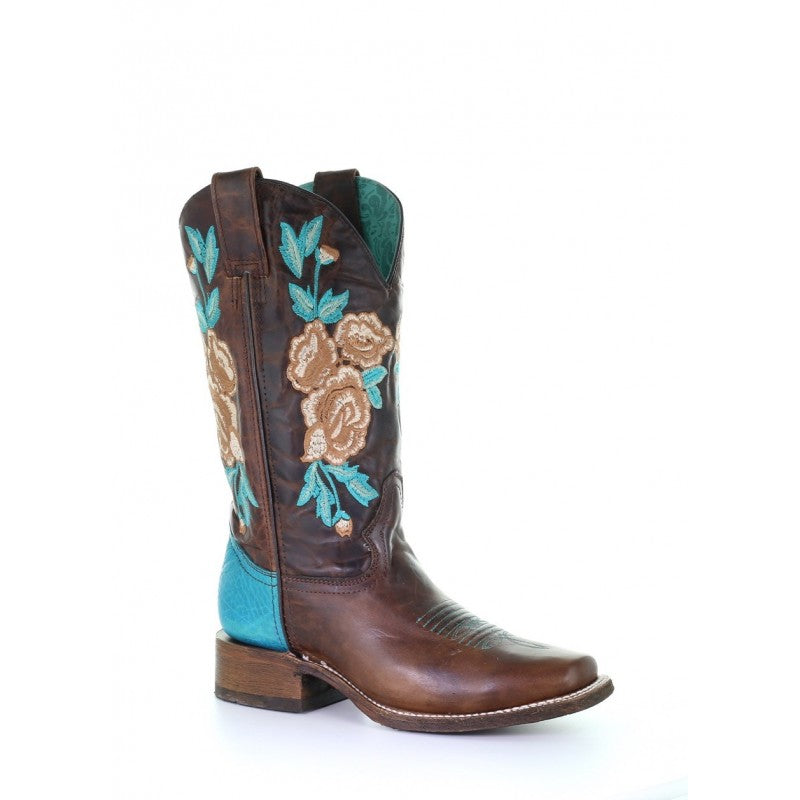 Corral Women's Rodeo Collection Floral Embroidered Riding Boot