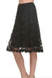 The Clothing Company Black Lace Skirt CS3640