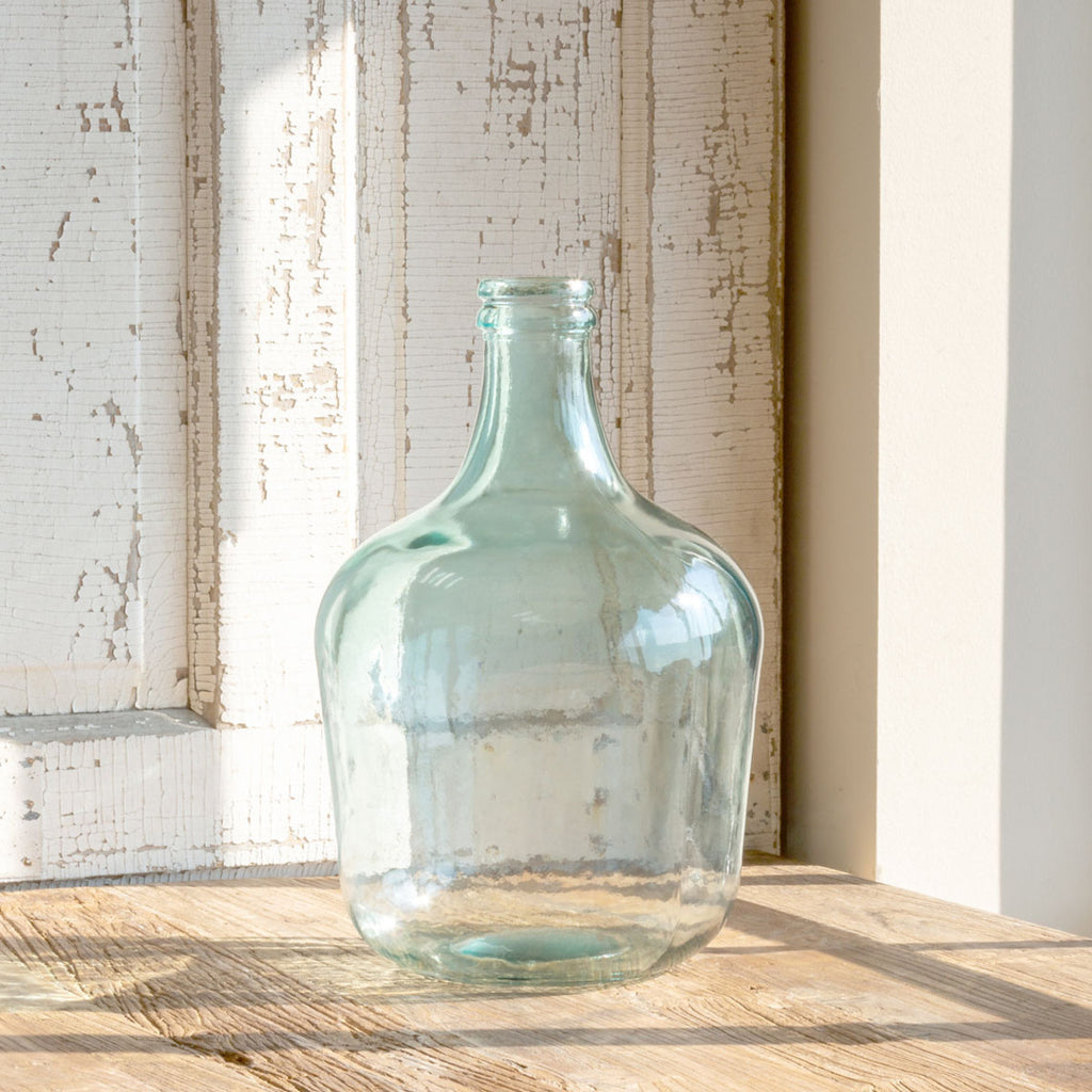 Glass Cellar Bottle