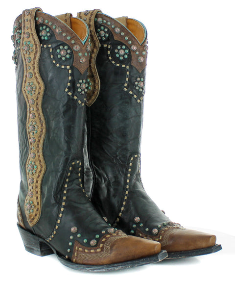 Old Gringo Women's Cheryl Tall Boot-Black L3195