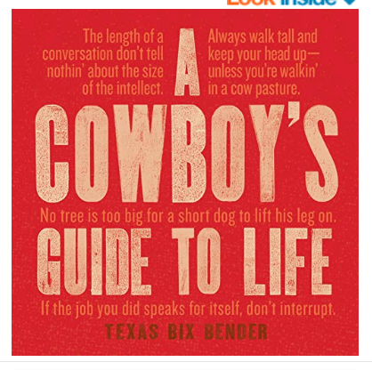 A Cowboy's Guide to Life Book
