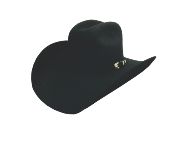 Dallas Hat Co Black Toro Felt 6X
