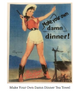 Rockmount Ranchwear Make your Own Damn Dinner & New Boots tea towels