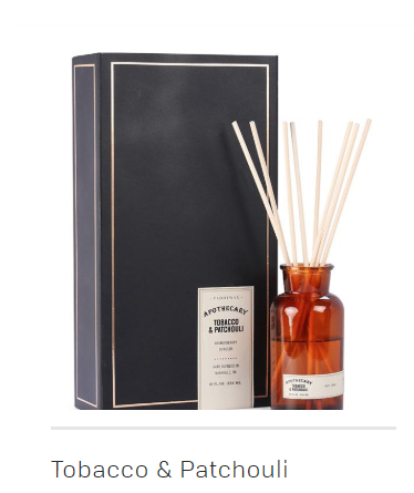 Apothecary Diffuser Tobacco Patchouli