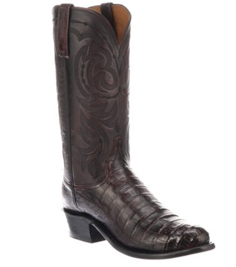 Lucchese Douglas Crocodile Tail Men's Boot N1141.R4