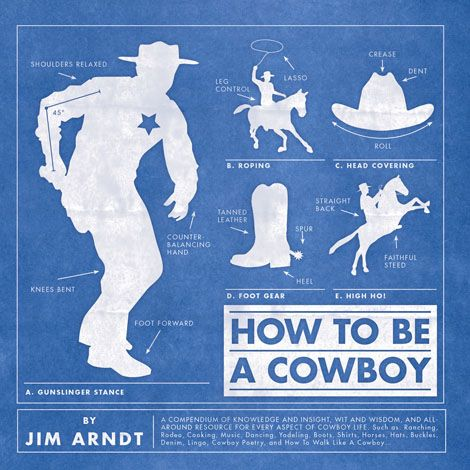 How to Be A Cowboy Book