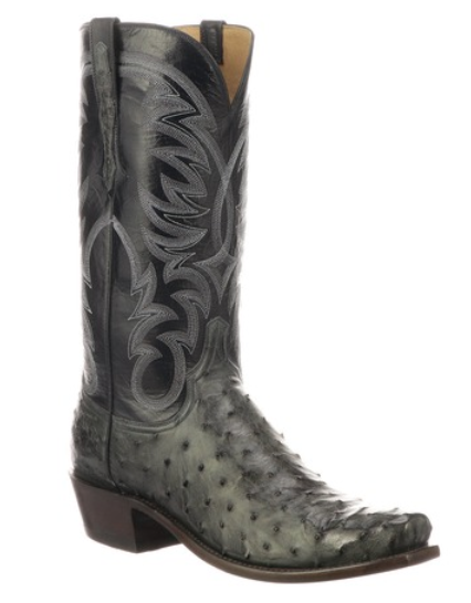 Lucchese Men's Hugo Full Quill Ostrich Boot N1195.73