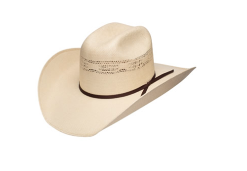 Resistol Double R Collection Nueces Mens Straw Cowboy Hat