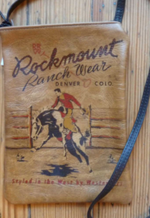 Rockmount Ranchwear Leather Cross Body Purse