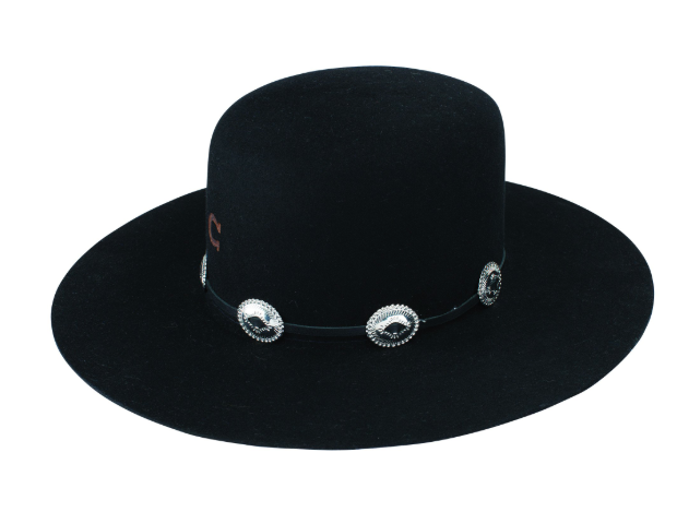 Charlie 1 Horse Stage Coach Black Felt Hat
