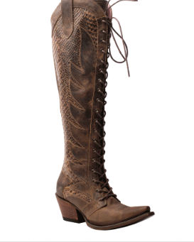 Junk Gypsy Women's Trail Boss Lace Up Tall Boot