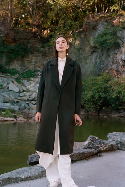Lily coat - Wool Cashmere 50/50 blend