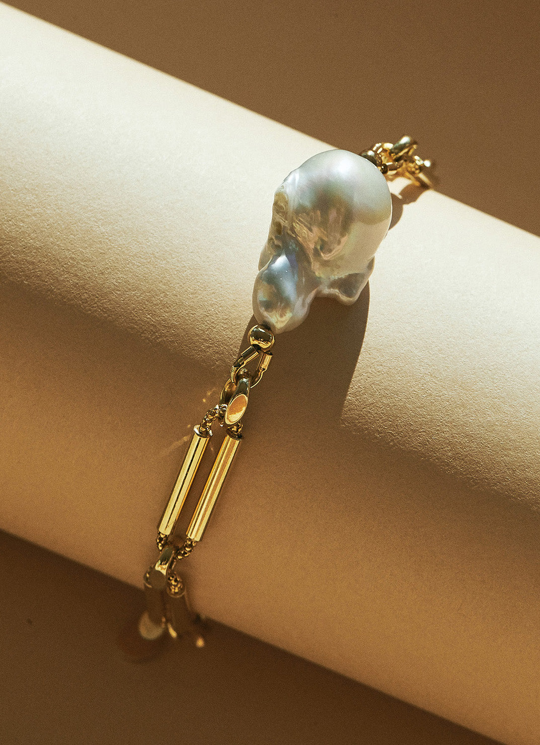 Reese Chain bracelet with pearl
