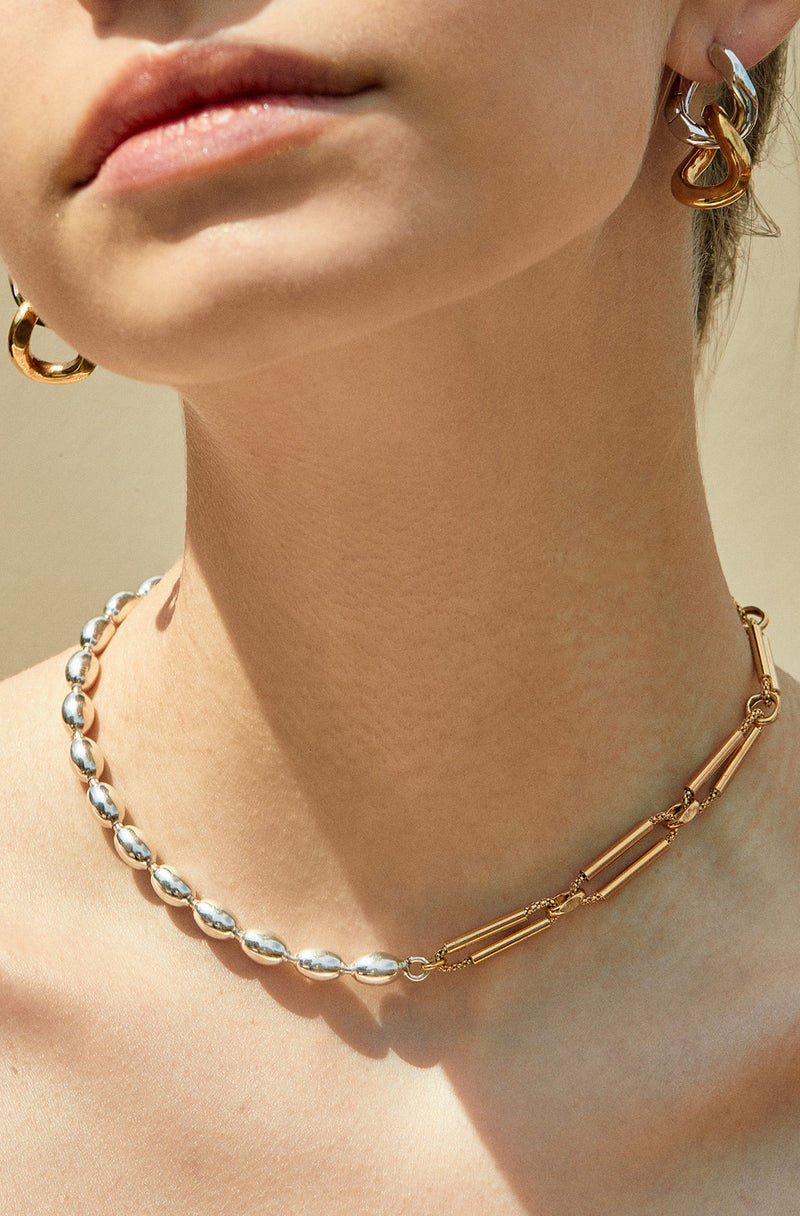 Eden Multi color  chain choker