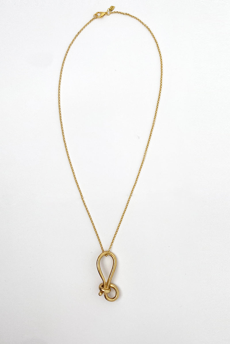 Leah_ big knot multi use necklace.