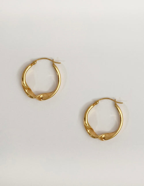 Alexandra twisted earrings