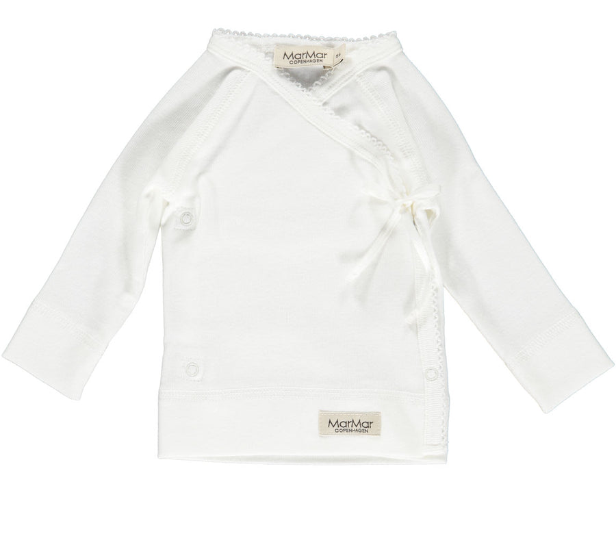MarMar New Born Tut Warp Vestje -White