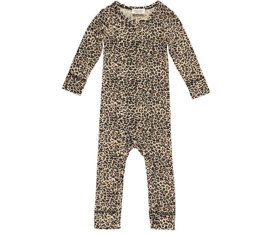 Playsuit Leopard Brown