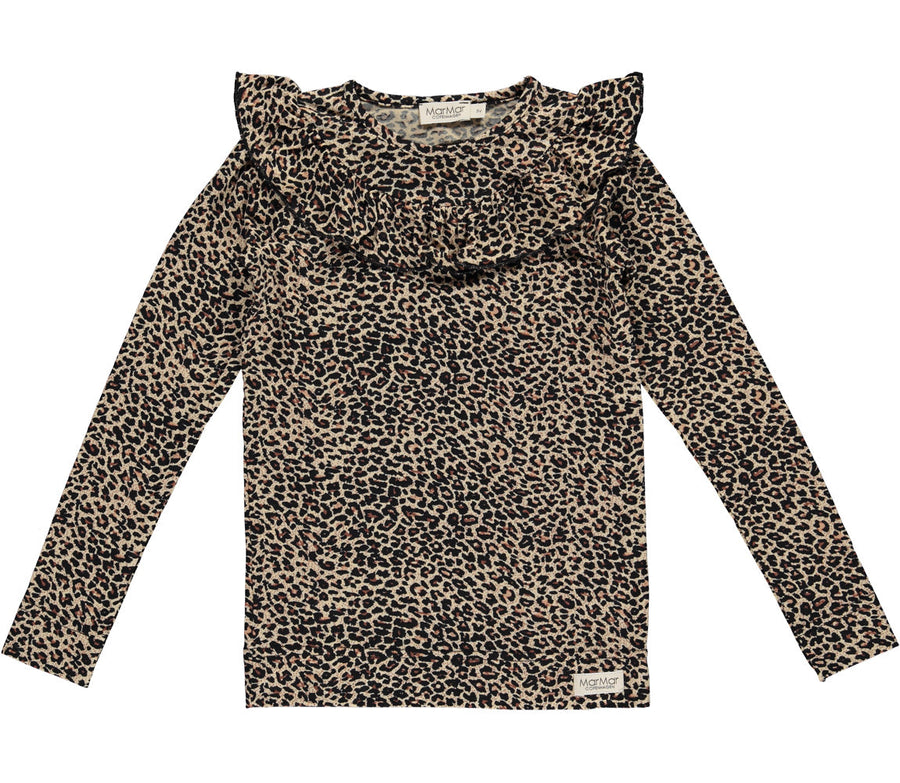Top Leopard Brown