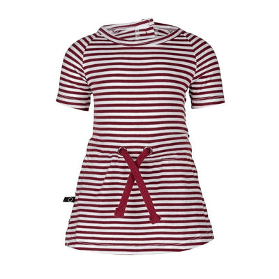 Pien dress stripe red