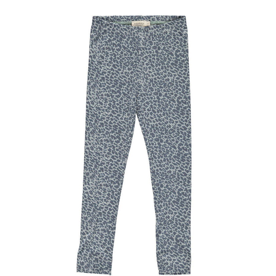 Legging Leopard Shaded Blue