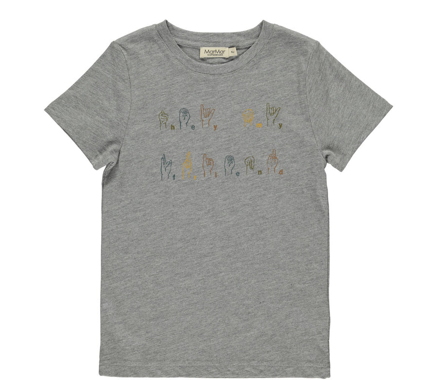 T-shirt Ted Grey Melange