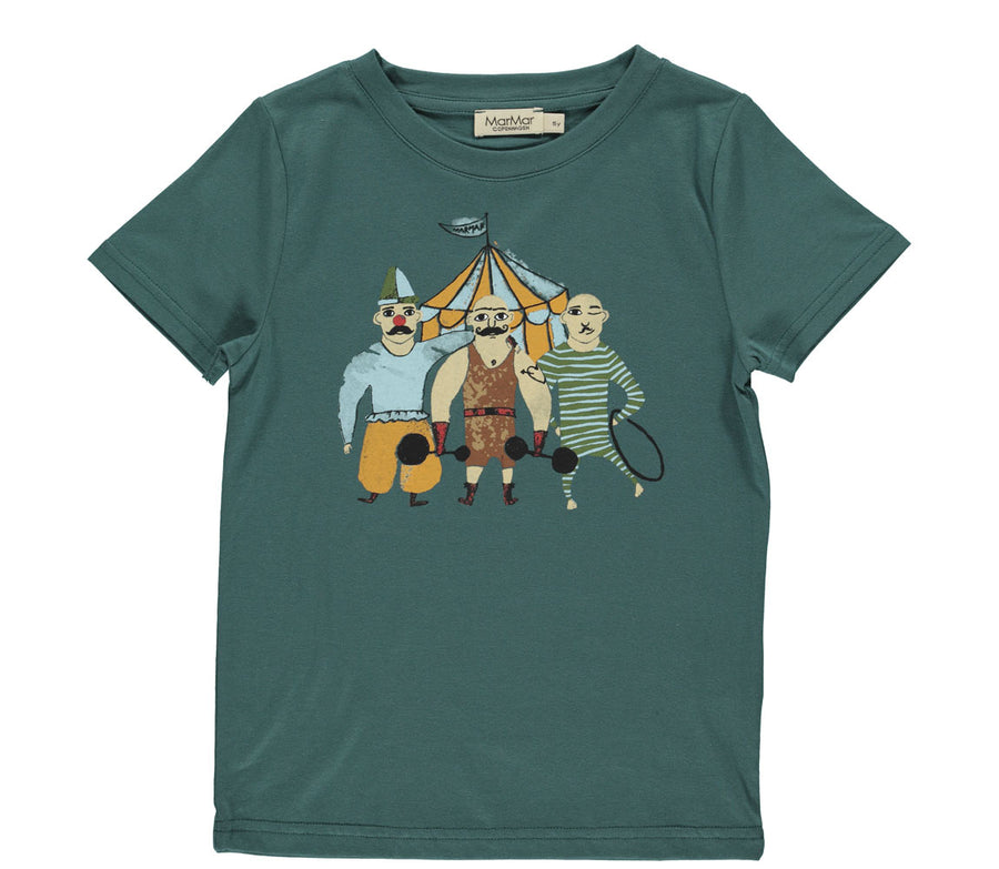 T-shirt Ted Darkest Teal