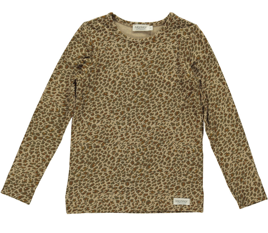 Top Leopard Leather