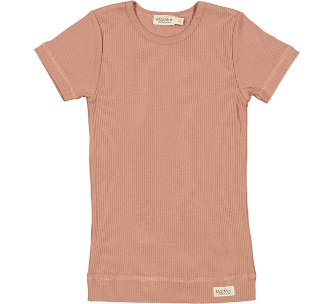 Modal T-shirt Rose Brown