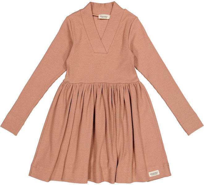 Modal Dress Rose Brown