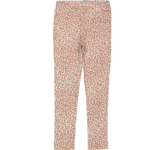 Leopard Legging Rose Brown