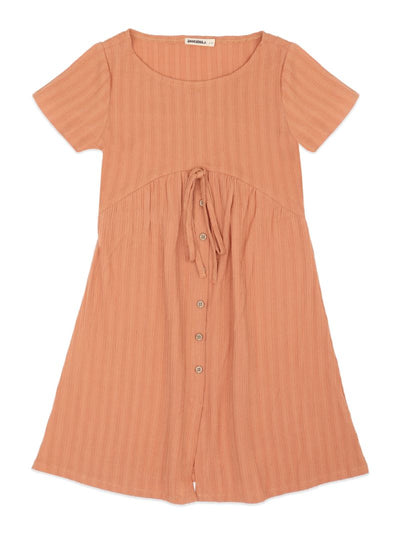 Jurk Girlsdress - Coral Dust