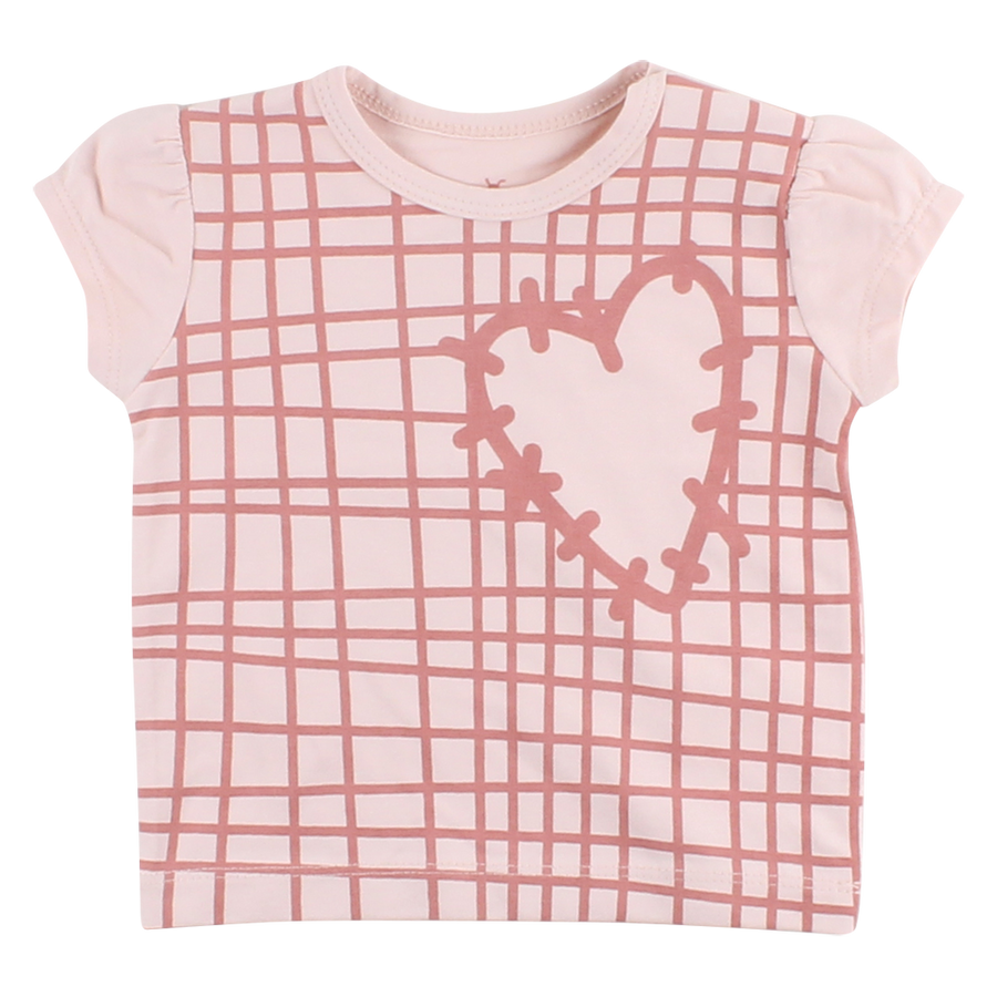 T-shirt Gavi mini pink