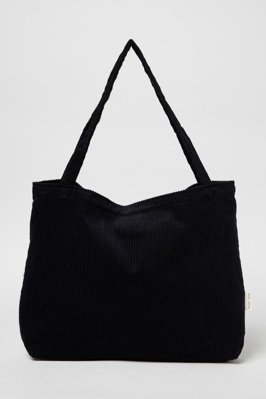Studio NOOS Mom Bag - Rib Zwart
