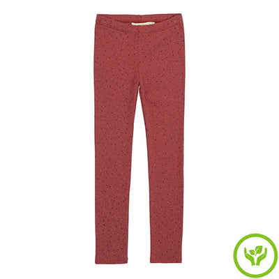 Legging Paula Barn Red Aop Trio Dottoe