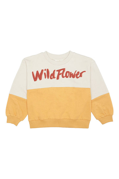 Sweatshirt Drew Seedpearl Wildflower