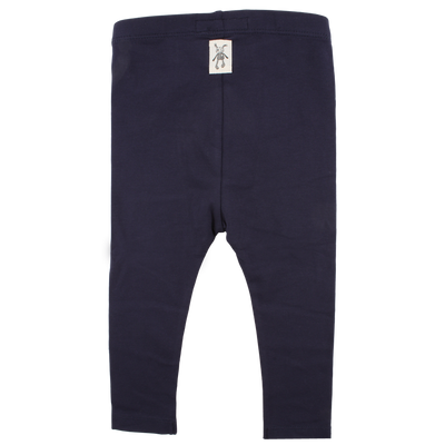 Small Rags | Legging navy hartjes