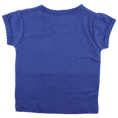 Small Rags | T-shirt Mr Rags blauw back