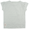 Small Rags | T-shirt veer aqua grey