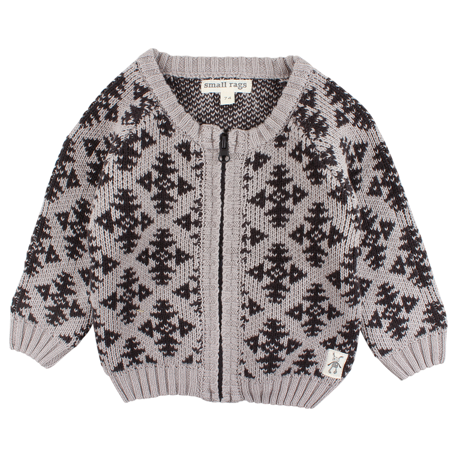 Vest Hubert Knit Dove