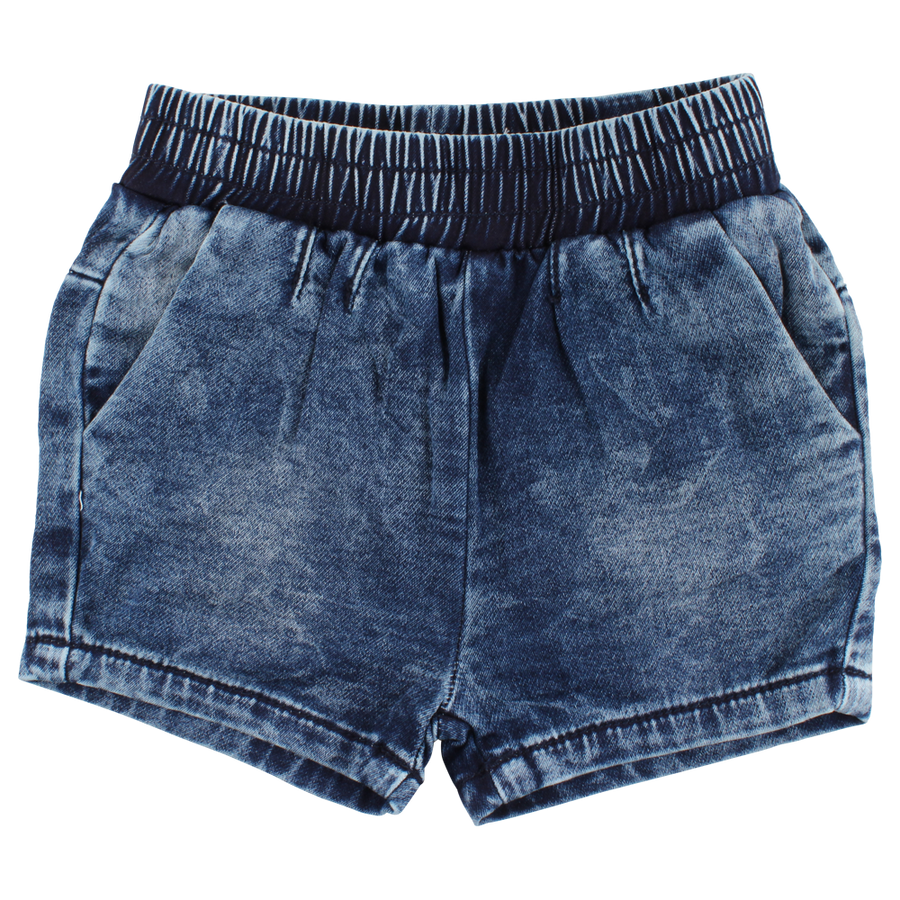 0735bd341f2670 Small Rags Denim Short voorkant ...