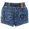 Small Rags Denim Short achterkant