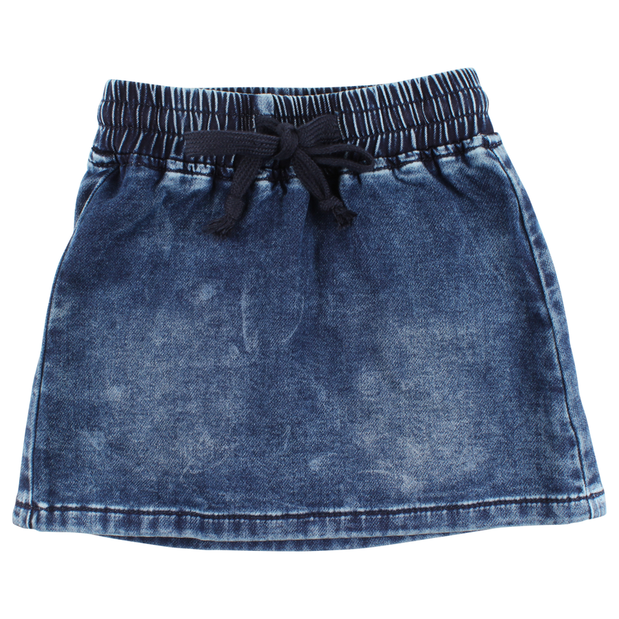 Small Rags Denim Rok voorkant