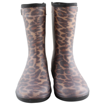 Thermoboots Leopard Brown